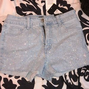 Bedazzled Fashion Nova Shorts